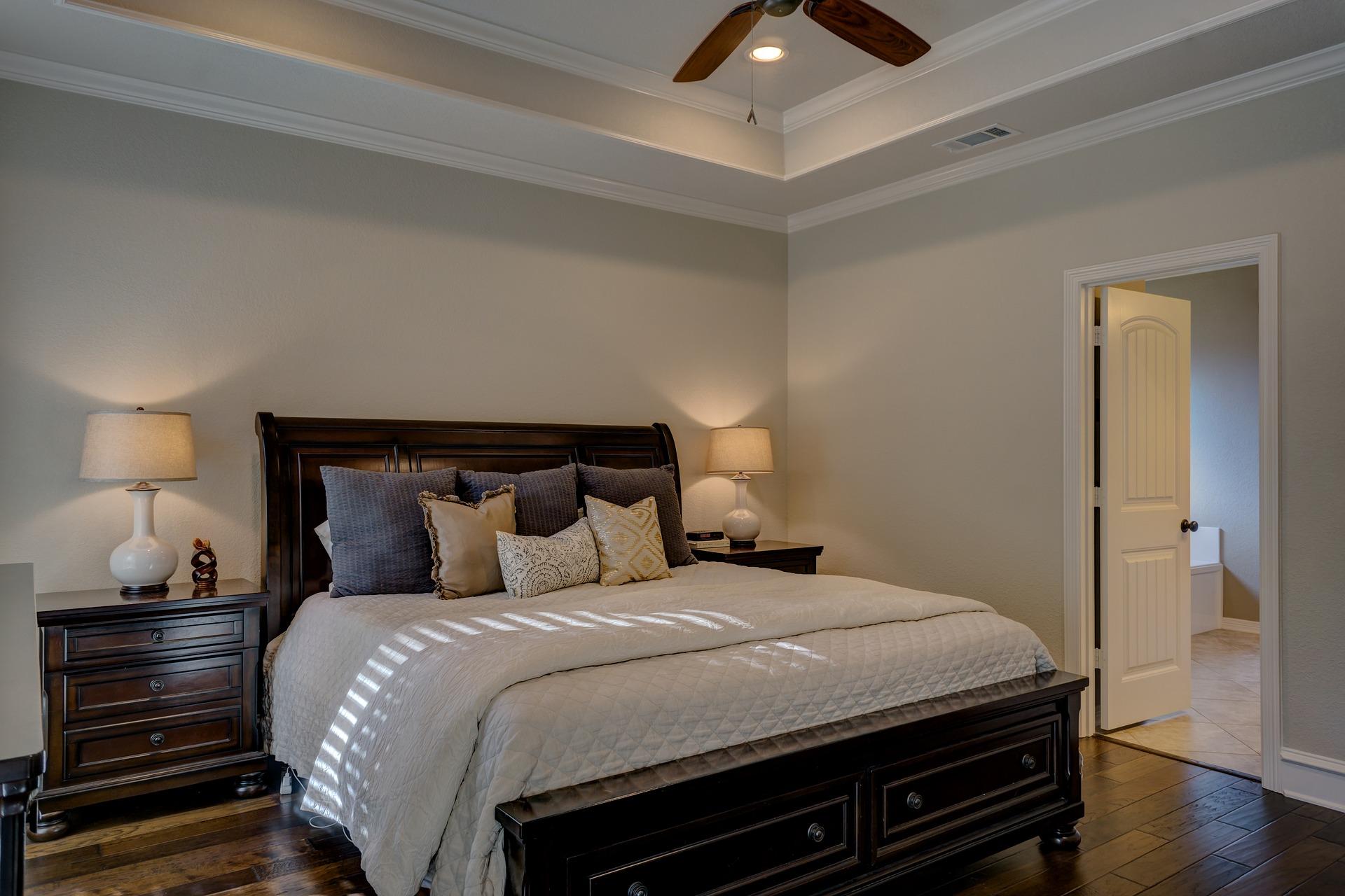 シンプルインテリアのイメージ(寝室)