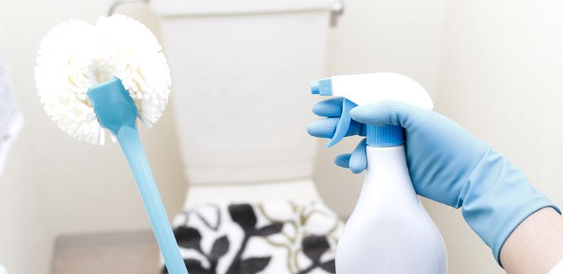 トイレ掃除に使う基本の道具